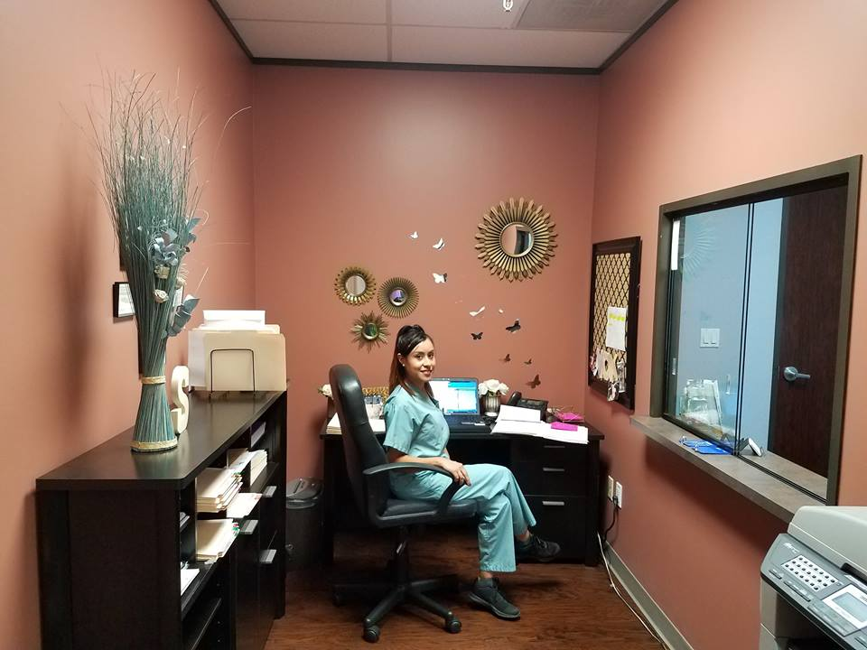 Yesenia is the real boss. She keeps the doctors busy, and works with patients, insurance companies, and attorney's offices all day in order to make sure everything is running smoothly.