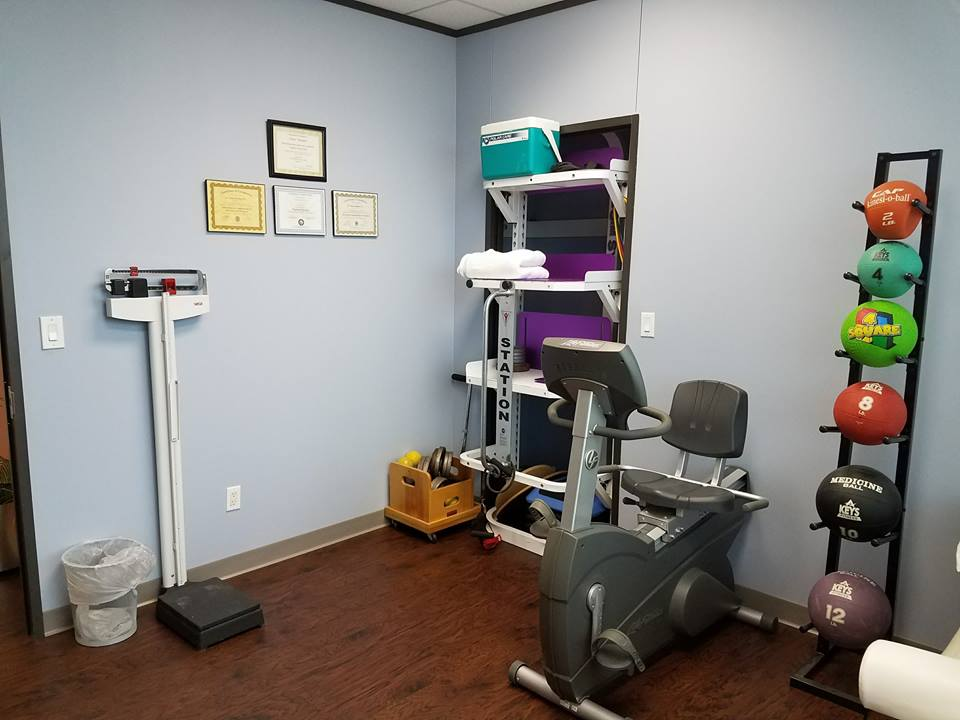 Another angle of the rehabilitation room.